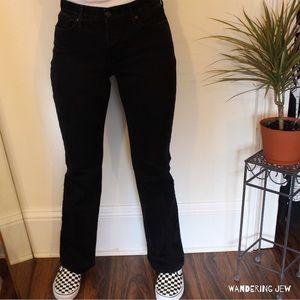 Classic Levi 525 Bootcut Jeans